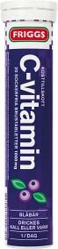 Bild på Friggs C-vitamin Blåbär 20 brustabletter