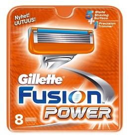 Bild på Gillette Fusion Power rakblad 8 st