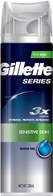 Bild på Gillette Series Sensitive Shave Gel 200 ml