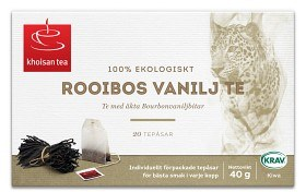 Bild på Khoisan Rooibos Vanilj 20 st