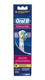 Bild på Oral-B Floss Action borsthuvud 5 st