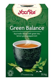 Bild på YogiTea Green Balance 17 tepåsar