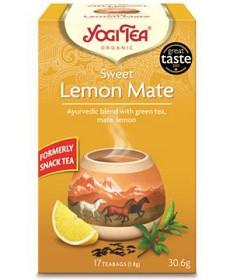 Bild på YogiTea Sweet Lemon Mate 17 tepåsar