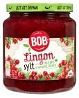 BOB Lingonsylt Mer Frukt 600 g