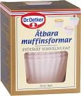 Dr. Oetker Ätbara Muffinsformar Rosa 10 st