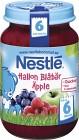 Nestlé Fruktpuré Hallon Blåbär Äpple 6M 195 g