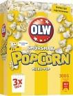 OLW Micropopcorn Smörsmak 3x100 g