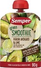 Semper Green Smoothie Päron Avokado & Lime 6M 90 g