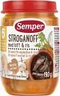 Semper Stroganoff med Biff & Ris 6M 190 g
