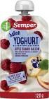 Semper Yoghurt Äpple Banan Hallon 12M 120 g