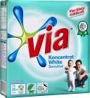 Via Tvättmedel Koncentrat White Sensitive Pulver 750 g