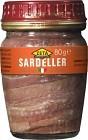 Zeta Sardeller 80 g