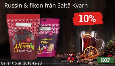 Saltå Kvarn Fikon & Russin