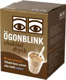 Bild på Ögonblink Chokladdryck Portion 8 p