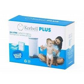 Bild på Korbell Plus Blöjhink Refill 3-pack