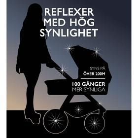 Bild på Pogu Barnvagnsreflex (Svart)