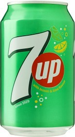 Bild på 7UP Burk 33 cl inkl. pant