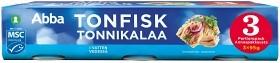 Bild på Abba Tonfisk i vatten 3x95 g