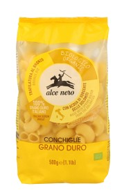 Bild på Alce Nero Conchiglie Durum 500 g
