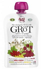 Bild på Alex&Phil Gröt med Hallon & Röda Vinbär 6M 100 g