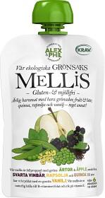 Bild på Alex&Phil Mellis med Gröna Ärtor & Svarta Vinbär 6M 100 g