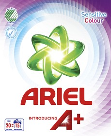Bild på Ariel Tvättmedel Sensitive Colour Pulver 675 g