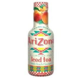 Bild på Arizona Iced Tea Peach 500 ml