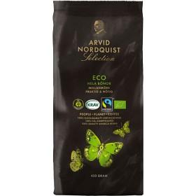 Bild på Arvid Nordquist Kaffe Selection ECO Hela Bönor 450 g