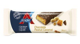 Bild på Atkins Advantage Chocolate Peanut Caramel Bar 60 g