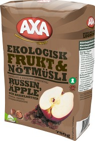 Bild på Axa Frukt & Nötmüsli 750 g
