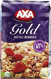 Bild på Axa Gold Müsli Berries 725 g