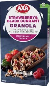 Bild på Axa Strawberry & Black Currant Granola 475 g