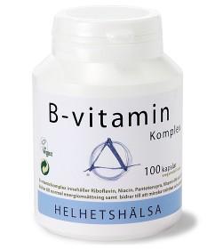 Bild på Helhetshälsa B-vitaminkomplex 100 kapslar