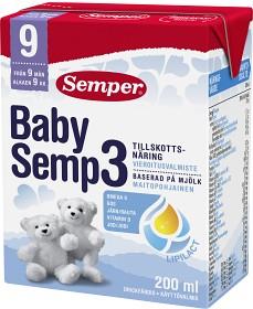 Bild på Baby Semp 3 drickfärdig 200 ml