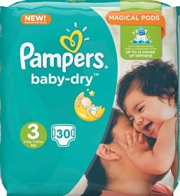 Bild på Pampers Baby-Dry S3 5-9 kg 30 st