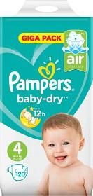 Bild på Pampers Baby-Dry S4 9-14kg 120 st