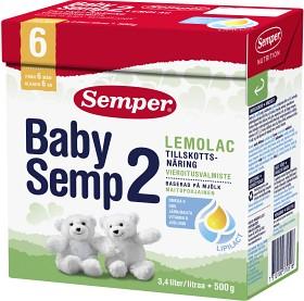 Bild på Semper BabySemp 2 Lemolac, 500 g, 3.4 liter