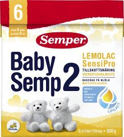 Bild på BabySemp 2 Lemolac SensiPro 500 g