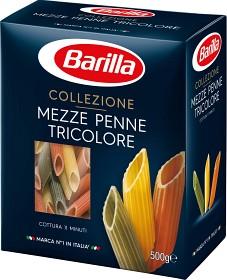 Bild på Barilla Pasta Mezze Penne Tricolore 500 g
