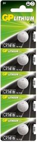 Bild på Batteri Lithium CR1616, 5 st