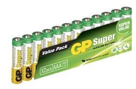 Bild på Batteri Super AAA 1,5V 12 st