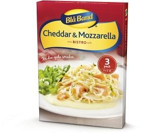 Bild på Blå Band Cheddar & Mozzarella 3x2 dl