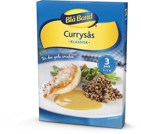 Bild på Blå Band Currysås 3x2 dl