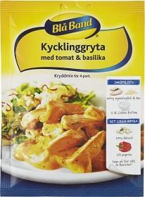 Bild på Blå Band Kryddmix Kycklinggryta med Tomat & Basilika 40 g