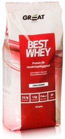 Bild på Great Earth Best Whey Muscle Repair Choklad 900 g