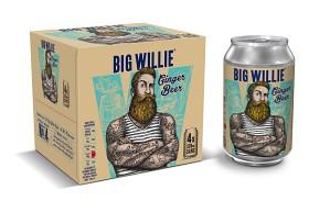 Bild på Big Willie Ginger Beer The Soft One 4x33 cl