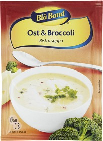 Bild på Blå Band Ost & Broccolisoppa 7,5 dl