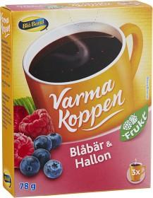 Bild på Blå Band Varma Koppen Blåbär & Hallonsoppa 3x2 dl