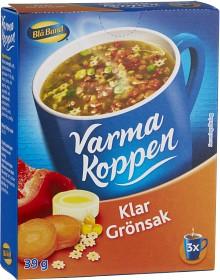 Bild på Blå Band Varma Koppen Klar Grönsakssoppa 3x2 dl