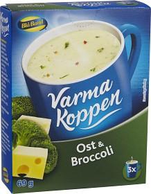 Bild på Blå Band Varma Koppen Ost och Broccolisoppa 3x2 dl